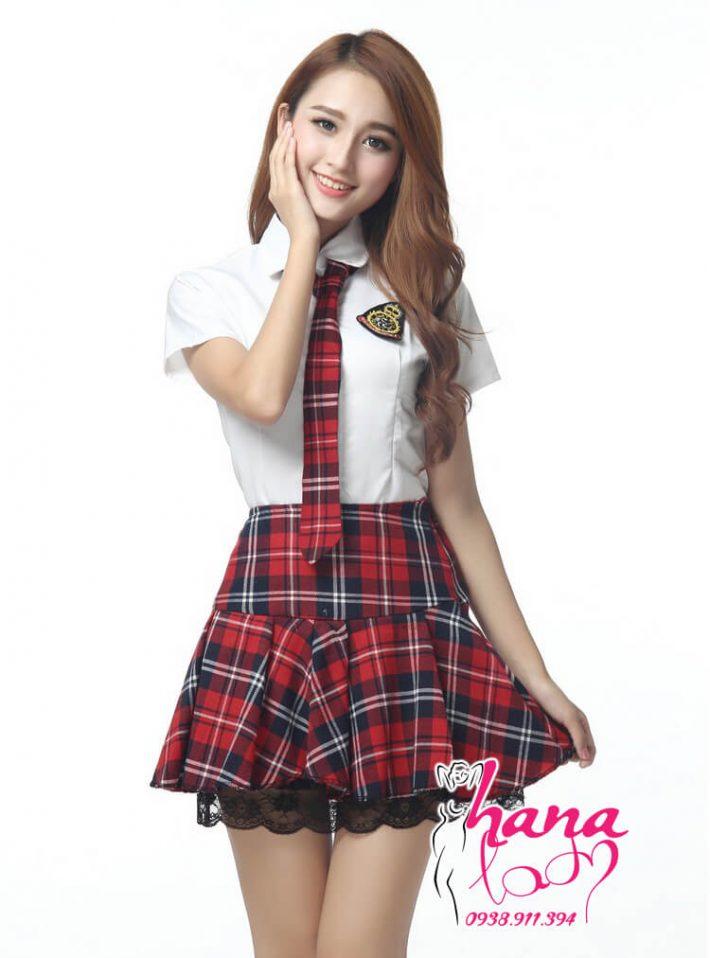 Cosplay Nữ Sinh Hàn Quốc White teen cao cấp