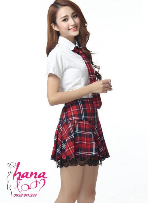 Đồ cosplay Nữ Sinh Hàn Quốc White teen cao cấp