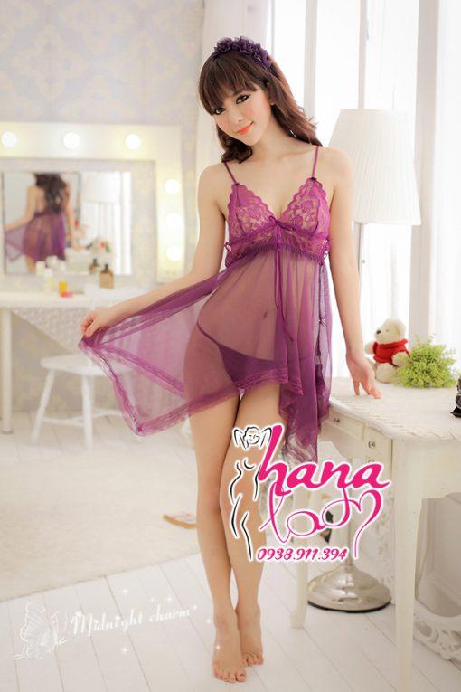 Đầm ngủ quyến rũ nhiều màu VN012 6