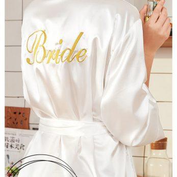 Váy choàng ngủ lụa BRIDE cao cấp VN209