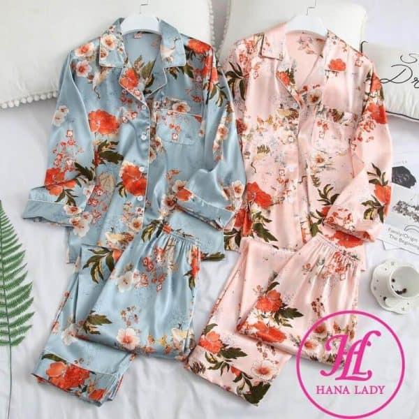 Thời trang nữ: Những bộ pijama nữ quần dài nàng nào cũng muốn có Do-ngu-pijama-dai-tay-1-600x600