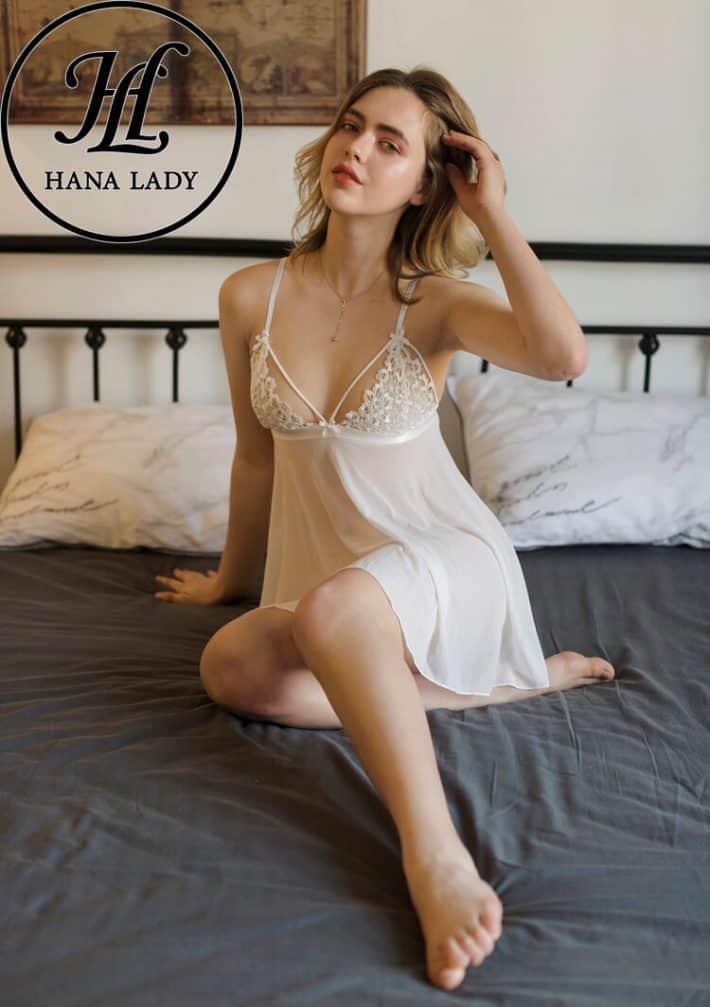 Váy ngủ ren hoa sexy cao cấp VN251W 3