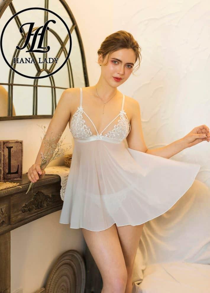 Váy ngủ ren hoa sexy cao cấp VN251W 5