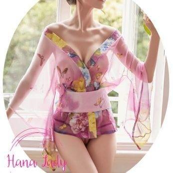 kimono xuyên thấu