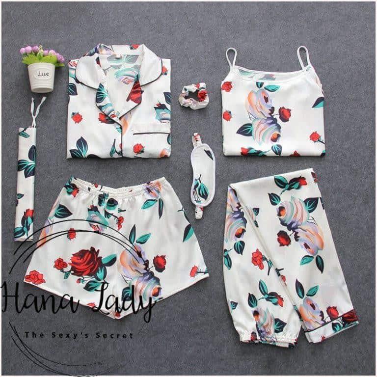 set bộ 7 món pijama