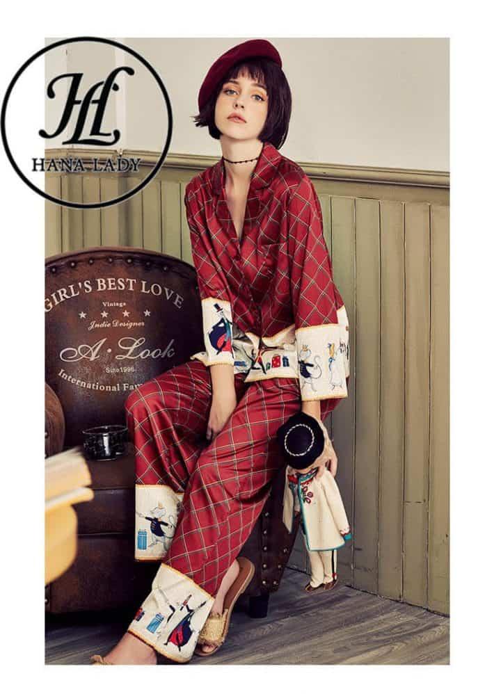 Pijama form sang chảnh lụa tằm cao cấp PJ168 5
