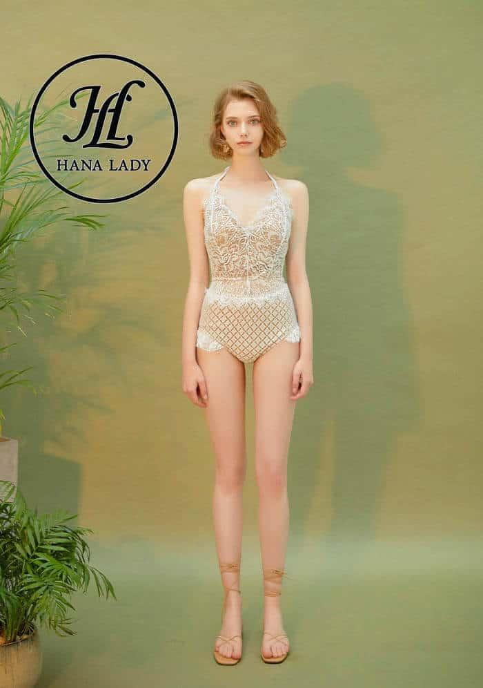 Bikini một mảnh ren cao cấp BN090 4