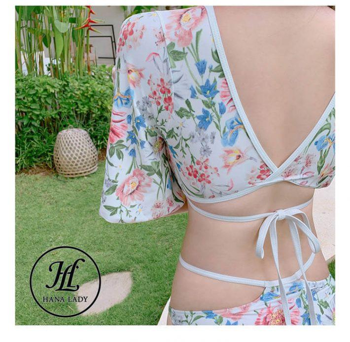 Bikini 2 mảnh dây chéo ngực sexy BN089 4