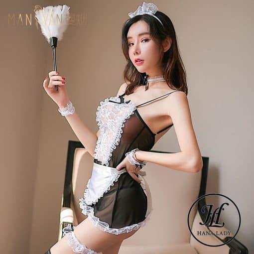 Cosplay hầu gái sexy CP158 4