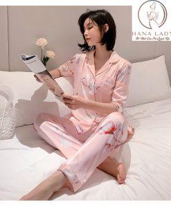 pijama lụa cao cấp